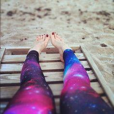 blackmilk purple galaxy leggings