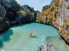 Go to Hidden Lagoon, El Nido, Palawan, Philippines❤️❤️Its my city in the Philippines but Never been here before🥺 Voyage Philippines, Philippines Vacation, Dream Vacations, Vacation Spots, The Places Youll Go, Places To See, Beautiful Islands, Beautiful Places, Wonderful Places