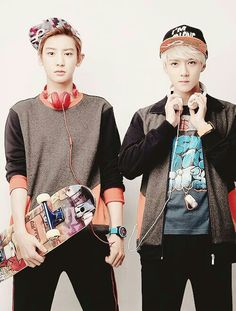 SeYeol !!!! QOTD:WHO IS YOUR ULTIMATE BIAS?? AOTD:SEHUN AND CHANYEOL ♥