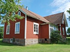 Swedish farmhouse with 3 bedrooms in a wide landscape near the Baltic Sea