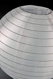 witte nylon lampion weer bestendig Candlebagplaza