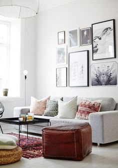 Check out this design inspiration to create the ideal living space. From how to style throw pillows to gallery walls, this inspiration for your home is sure to reflect the style you've always dreamed of.