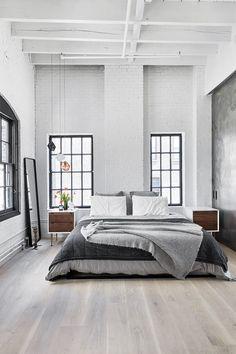 Scandivavian / New Yorker loft living
