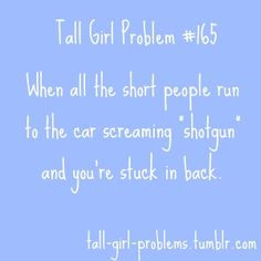 I had this happen to me often in h.s. I would throw a fit until they let me in front.