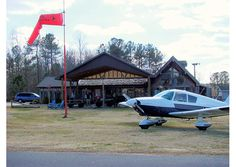 Ask a recreational pilot in central North Carolina about his favorite daytrip, and he'll likely tell you about a little private airport right in the center of the Sandhills where you can get the finest hickory-smoked barbecue around.
