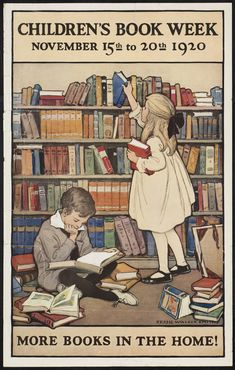 1920, Nov. 19-20: Children's Book Week, established the previous year by the American Booksellers Association and ALA, is now the nation's longest-running literature initiative.