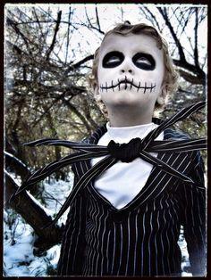 DIY Halloween Costume Ideas for kids - Jack the nightmare before christmas Tutorial. #halloween