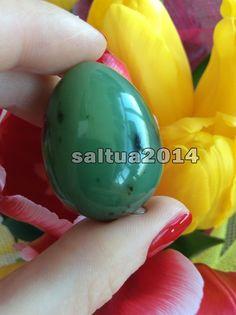 Vaginal egg JADE 100 % Authenticity handmade kegel exercise semiprecious stone
