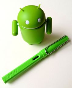 Android meets Lamy Green