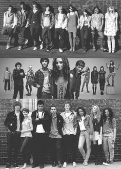 Skins - All generations. Not a movie, but my favorite tv show.