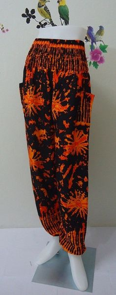 Hey, I found this really awesome Etsy listing at https://www.etsy.com/listing/192095389/orange-ladiess-trouser-harem-ali-baba