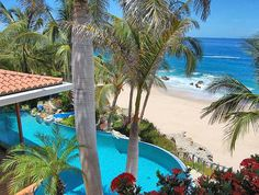 The best pool and beach spot in all of CABO! Love this villa!