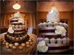 Purple Black and Gold Florida Wedding by Limelight Photography - KnotsVilla
