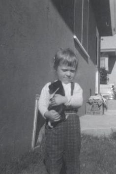Pictures of guinea pigs - boy and guinea pig 1957