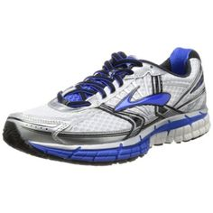 d3085f0fa5c Brooks Men s Adrenaline GTS 14 Running Shoes White Electric Silver) - deal  for kids
