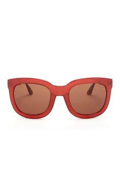 Isaac Mizrahi Sunglasses Women's Square Plastic Sunglasses on HauteLook