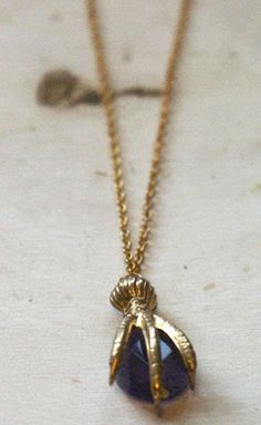 I totally had one of these in H.S., can I dare have one again?! Amethyst Claw Necklace by Oliver Rae $70