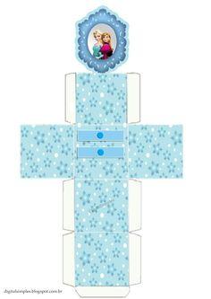 Cajita-aparador Frozen