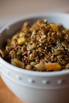 apricot pistachio granola...whole grain mornings....this version is different than the other one I pinned, for some reason