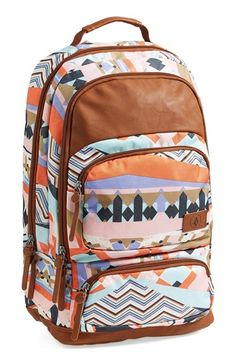 Volcom Deluxe Laptop Canvas Backpack (Juniors) available at #Nordstrom