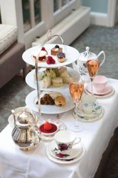 DUKES LONDON introduces afternoon tea of all afternoon teas...I want to be here right now!