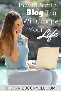To start a blog that will change your life, start a blog that will change other people's lives - and follow this step by step tutorial