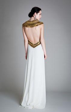 Back of Goddess Dress