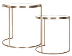 Zara Home - Bedroom - United Kingdom Circular glass table with golden metal structure. Big size: diameter and height. Circular glass table with golden metal structure. Find Furniture, Accent Furniture, Table Furniture, Home Furniture, Zara Home Canada, Nesting Tables, Home Collections, Home Bedroom, Home Accessories