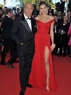 Cannes 2012: Irina Shayk and jeweller Fawaz Gruosi