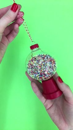 Amazing diy christmas ornaments ideas 10 diy videos, diy crafts videos, f. Fun Diy Crafts, Diy Christmas Ornaments, Diy Crafts Videos, Crafts For Teens, Christmas Projects, Christmas Fun, Holiday Crafts, Ornaments Ideas, Diy Videos