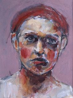 Katharina - small painted portrait by Gillian Lee Smith