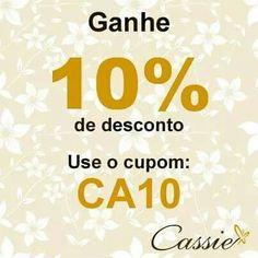 ✨ Já visitou a loja!?! Semijoias folheadas com garantia, além de lindas bolsas.  Em até 6x sem juros ou se preferir, pode pagar pelo boleto bancário (Pagseguro e MercadoPago) e frete grátis para compras acima de R$ 150,00. ✨  Use o Cupom de desconto CA10 e ganhe 10% de desconto!!  ╔═══════════════════╗ #Cassie #semijoias #acessórios #moda #fashion #estilo #inspiração #tendências #trends #prata #cupomdedesconto #instajoias #love #pulseirismo #zirconias #folheado #dourado #