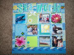 Sea World - Scrapbook.com