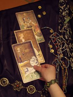 Visconti tarot by Talia Felix. Click the link for your own tarot reading. :)