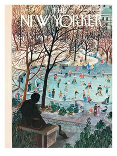 The New Yorker Cover - February 4, 1961. I love vintage The New Yorker covers. This is one of my faves.