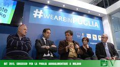FOGLIE TV - Bit 2015, successo per la Puglia agroalimentare a Milano
