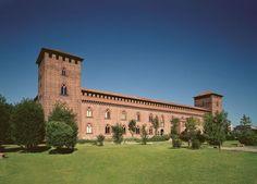 Castello Visconteo in Pavia, Lombardy, Italy