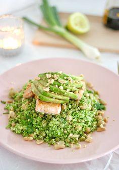 Couscous van broccoli, wanneer je dit nog nooit gemaakt hebt wordt dat hoog tijd. Gezonde couscous die zelfs lekkerder is dan de klassieke variant.