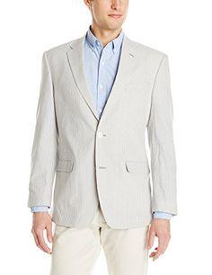Tommy Hilfiger Men's Tan Antique Pinstripe Seersucker Sportcoat  http://www.allmenstyle.com/tommy-hilfiger-mens-tan-antique-pinstripe-seersucker-sportcoat-2/
