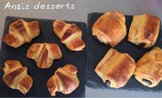 Les recettes de dessert d'Anaïs: Croissants et pains aux chocolats
