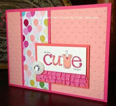 Trinity Designs: RemARKable Stampers - 25th Anniversary Blog Tour - June - Brides and Babies