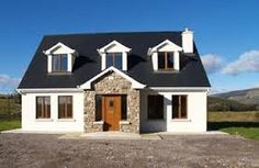 TP Walsh Auctioneers, Dromod, Co Leitrim Modern Bungalow Exterior, Modern Bungalow House, Bungalow Designs, Bungalow Ideas, Loft Conversion Rooms, Bungalow Conversion, Dormer House, Dormer Bungalow, House Designs Ireland