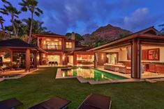 Entire home/apt in Honolulu, United States. Exquisite Luxury Villa situated on the base of Diamond Head. Stunning views of Oahu's Gold Coast, lush gardens & lavish outdoor living areas. Luxuries include a Gourmet Kitchen, heated pool & spa, beach access & private theater just to name a few!