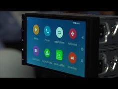 Connected Cars / CarPlay and Android Auto - Parrot RNB 6 car system:  This ambitious auto entertainment system is compatible with Apple and Google's car systems ...