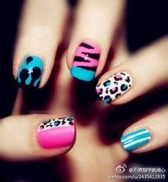 Cool and funky nails