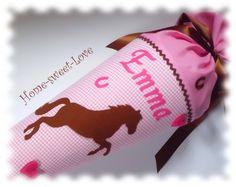 Schultüte  Pferdchen   Zuckertüte  Pony Name