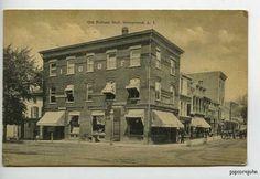 Hempstead-LI-NY-Street-View-Horse-Wagon-Postcard 1909