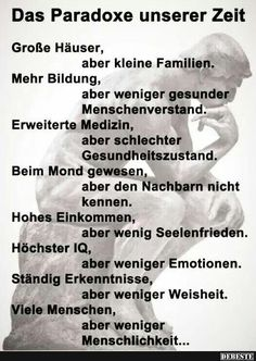 Etwas worüber die Welt mal nachdenken sollte … You are in the right place about Psychology background Here we offer you the most beautiful pictures about the Psychology wallpaper art you are looking f Motivational Quotes For Women, Funny Quotes, Life Quotes, Inspirational Quotes, Motivational Pictures, German Quotes, True Words, Cool Words, Quotations