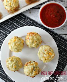 Looking for a delici     Looking for a delicious gluten free appetizer for your next party? Try these gluten free pizza puffs. They can easily be made with traditional flour as well! So good!  https://www.pinterest.com/pin/213991419770259093/  Also check out: http://kombuchaguru.com