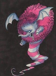 News September 2013 Tim Burton Drawings, Tim Burton Art, Entertaining Movies, Dark And Twisted, Creepy Art, Pink Elephant, Stop Motion, Dark Art, Illustrators